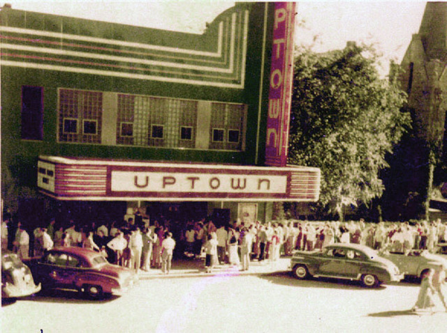 Uptown Theatre, Columbia, Missouri about 1950