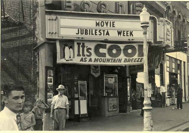 Boone Theatre about 1947