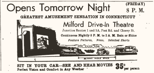Milford Red and Blue Drive-In