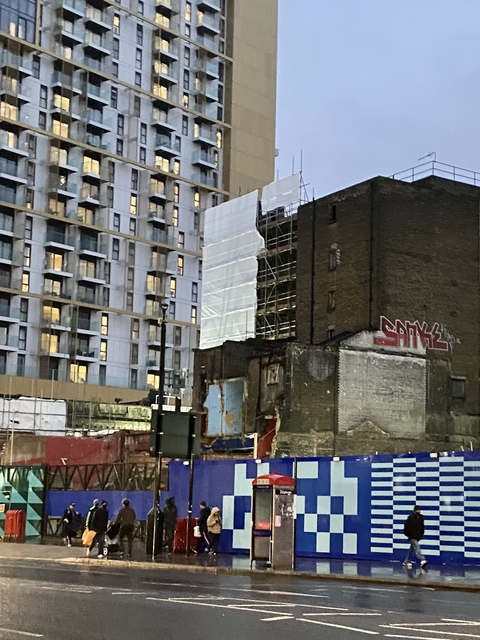 Foyer demolition