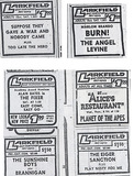 various ads 1968-1970