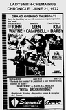 "[""Summit Theatre opening ad June 21, 1972""]"