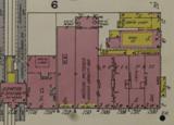 "[""Sanborn Fire insurance map including the Palais Royal, 1916""]"