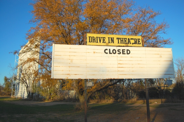 KEARNEY Drive In Theatre - Kearney Ne - Demolished!