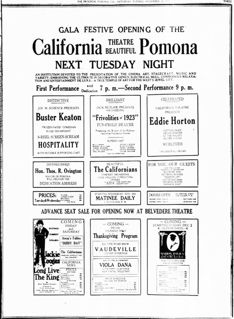 Pomona Valley Auditorium