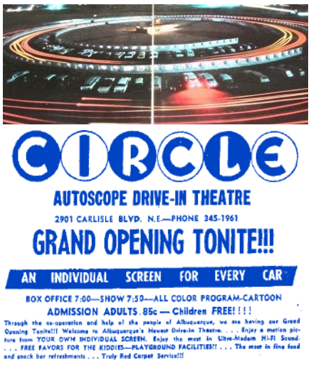 Circle Autoscope Drive-In