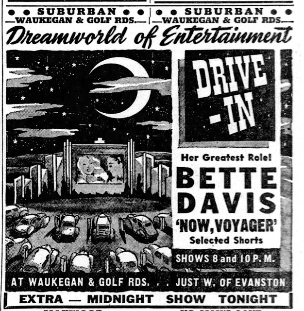 August 26, 1944 print ad courtesy Windy City Ballyhoo: Chicago's Moviegoing Past.