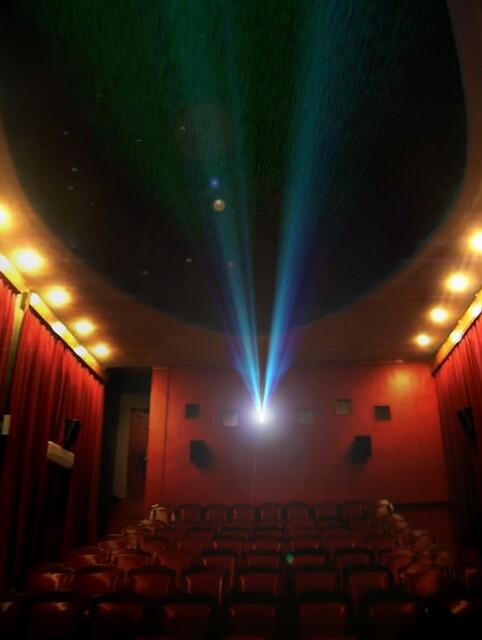 Cinema Exmundo - interior, auditorium