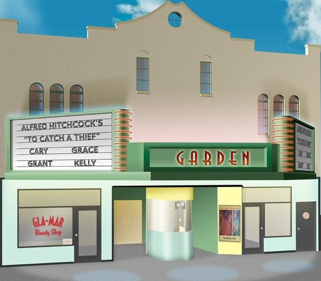 Garden Theatre Exterior--c. 1956
