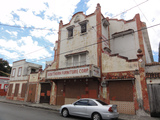 Antiguo Teatro Belgica en la Calle Colombia esq. Gran Via, Comunidad Belgica, Barrio Cuarto, Ponce, Puerto Rico