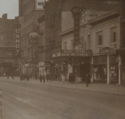 Harlem Grand Theater 1920