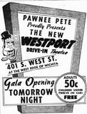 """[""""Westport Drive-In""""]"""