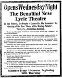 "[""Lyric Theatre""]"