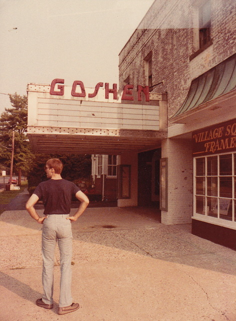 Goshen Theatre, NY in 80s