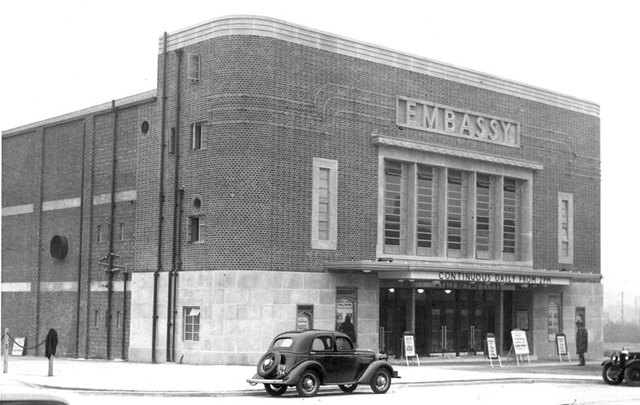 SHIPMAN AND KING'S EMBASSY CINEMA PETTS WOOD UK