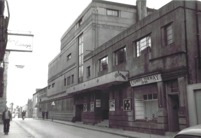 Angus Playhouse Cinema, Montrose, Angus, Scotland, 1967.