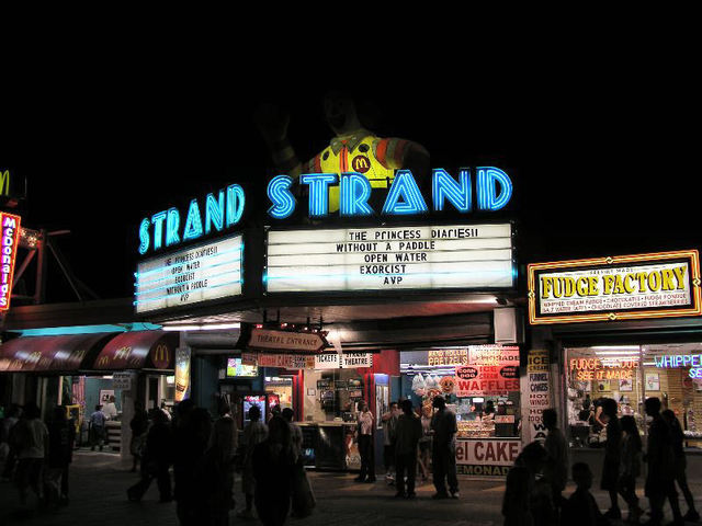Strand theater, Wildwood, NJ