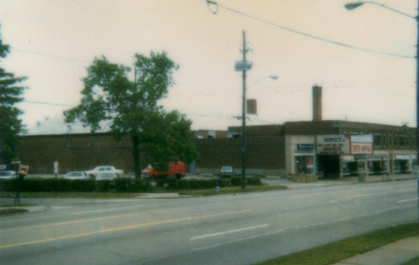 Center Mayfield Theatre - Exterior, 1985