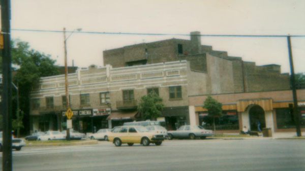 Heights/Coventry/Centrum Theatre exterior from 1985