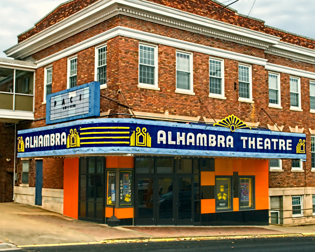 Alhambra theatre in hopkinsville ky cinema treasures - Alhambra ticket office opening hours ...