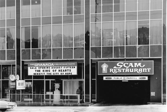 Granada Theater, August 1967