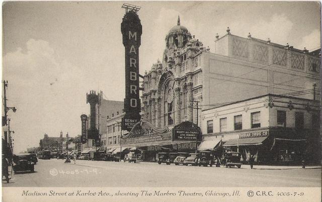 Marbro Theatre Exterior 1929