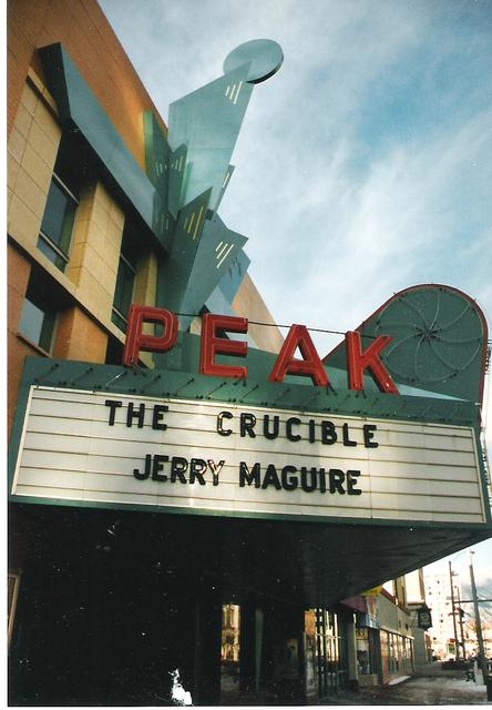Peak Theatre - Colorado Springs, CO February 1997