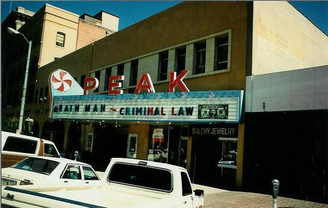 Peak Theater - Colorado Springs CO 1990