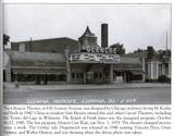 Glencoe Theater in the mid 1940's