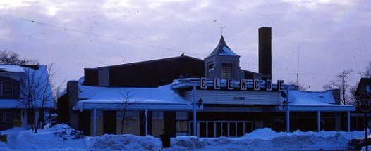 Glencoe Theater shortly after it closed in 1979
