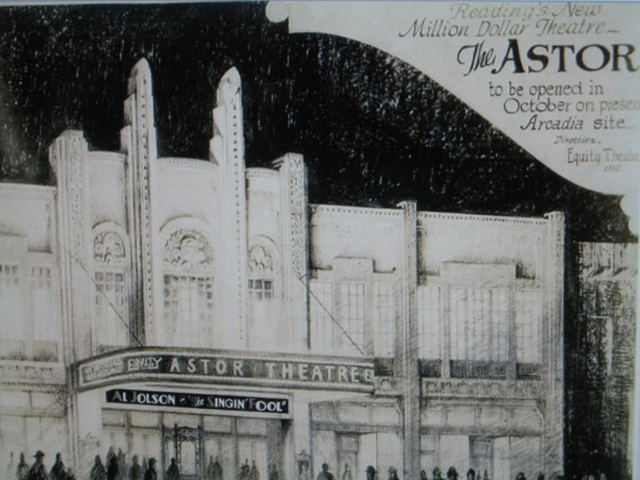 Announcing the New Astor Theatre in Reading PA