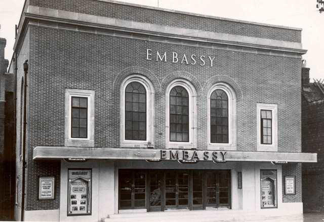 THE EMBASSY CINEMA TENTERDEN. KENT UK.