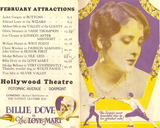 <p>Advertising herald from the Hollywood Theatre for THE LOVE MART (1927).</p>