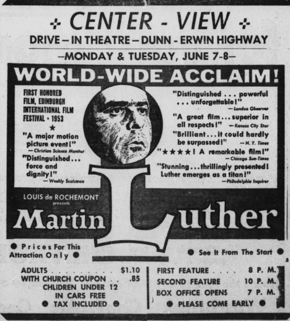 Center-View Drive-In