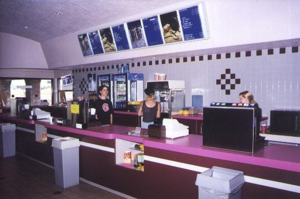 Alternate view of snack bar