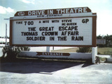 Vero Drive-In Sign