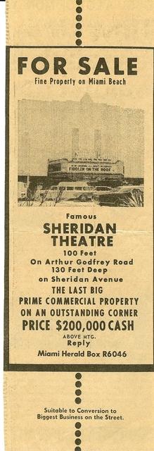 Sheridan Theatre