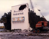 1983 Brevard Drive-In Demolition