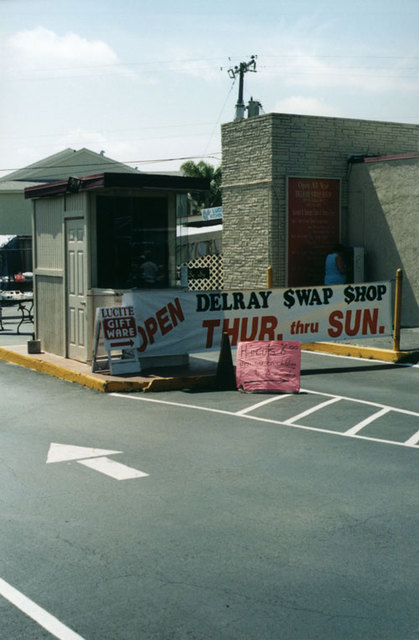 Delray Drive-In Ticket Booth