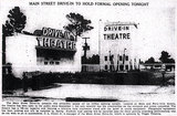 1950 Main Street Drive-In Article from the Florida Times Union