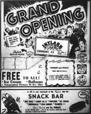 Skylark Drive-In Grand Opening Ad
