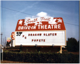 South Trail Drive-In Sign