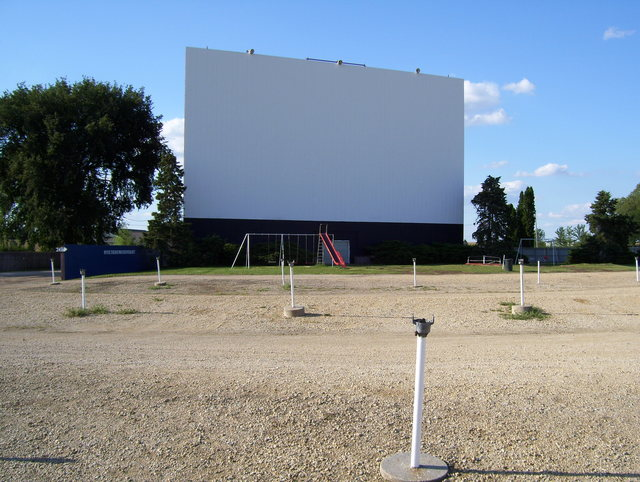 Midway Drive-In lot