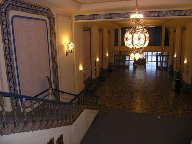 Rhode Lobby Balcony Level POV