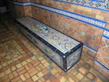 Rhode Lobby Tiled Bench
