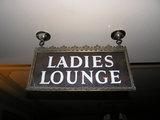 Rhode Ladies Lounge Signage