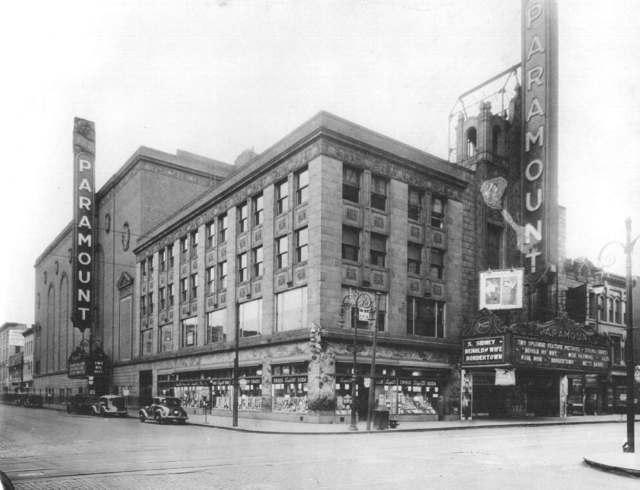Paramount exterior 1930's