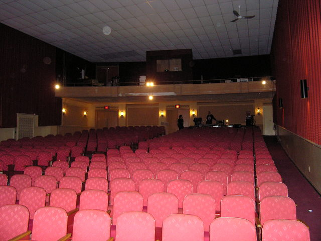 Rhode R/H East Auditorium & Balcony From Stage POV