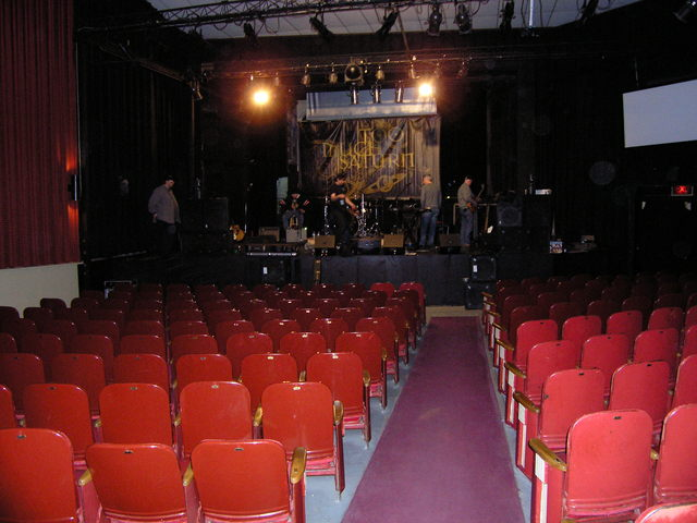 Rhode R/H East Auditorium Stage View
