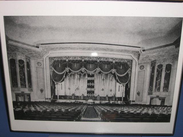 Rhode Original Auditorium Photos On Display In Lobby